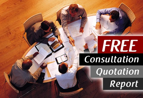 Get a FREE Consultation / Report / Quotation NOW!